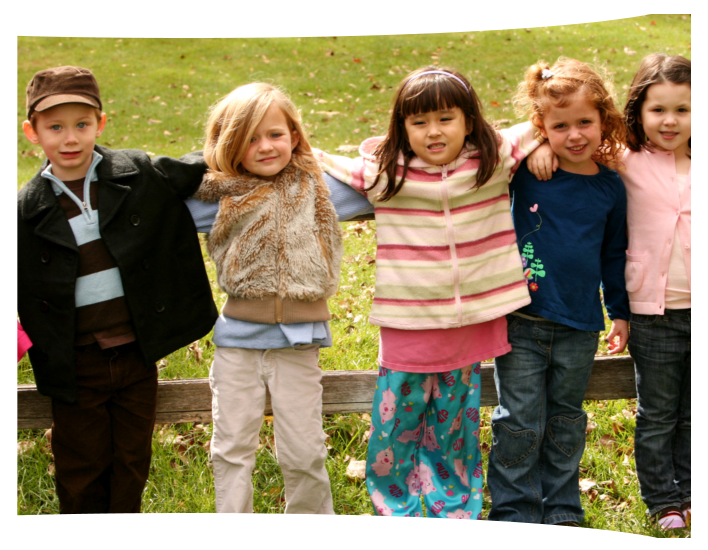 Group of kids outdoor